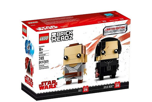 41489 Brickheadz Rey & Kylo Ren 1