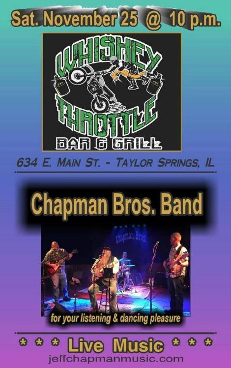 Chapman Bros 11-25-17