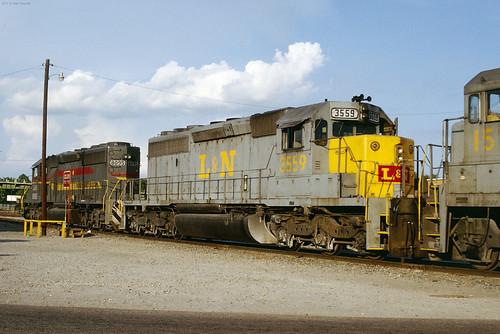 L&N 3559  Sumter SC August 1980