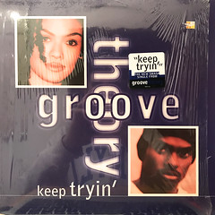 GROOVE THEORY:KEEP TRYIN'(JACKET A)