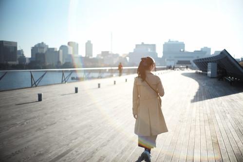 Walking wife