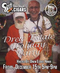 Drew Estate Holiday Party-Smoke Inn Cigars, Vero Beach