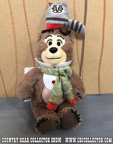 2017 Tokyo Disneyland Jingle Bell Jamboree Henry Mini Plush - Country Bear Collector Show #127
