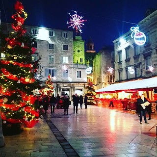 Advent, Split, Croatia