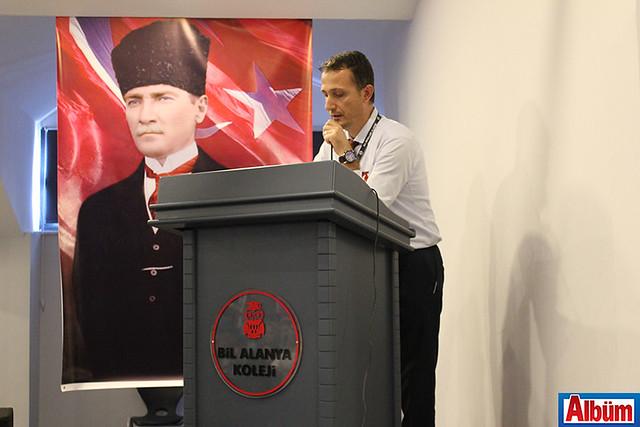 Bil Alanya Koleji Sosyal Bilgiler Öğretmeni İsmail Özkan yaptı