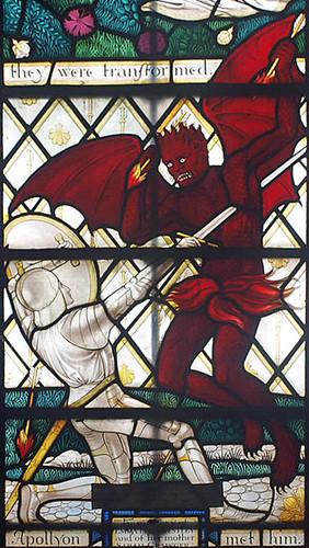 S transept Ninian Comper Pilgrim's Progress 1933 (19)