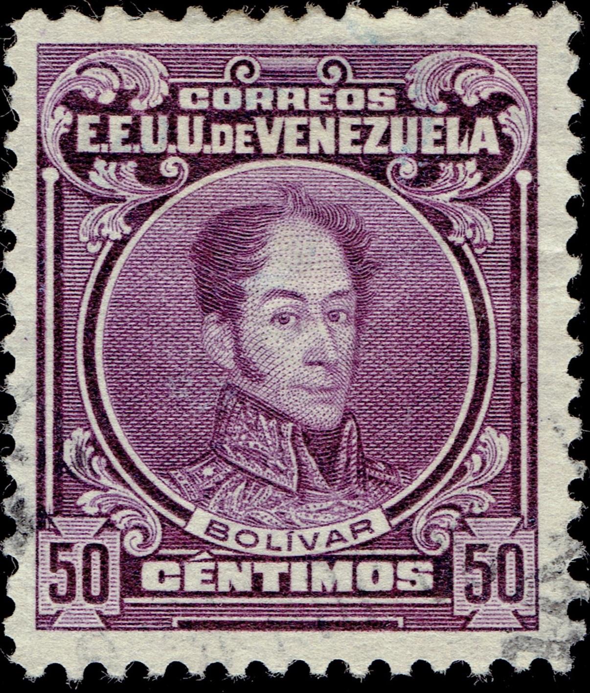 Venezuela - Scott #265 (1915)