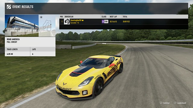 FM7 Time Attack | Stock Car Challenge #4 (2015 Chevrolet Corvette Z06) 26596672469_d8611185a3_z