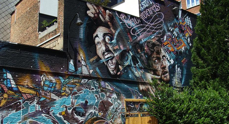Street art in Antwerpen: street art wandeling door Antwerpen | Mooistestedentrips.nl