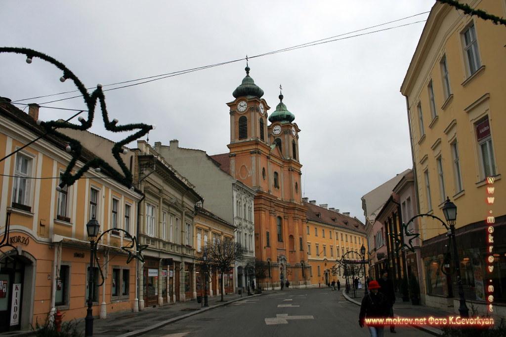 Секешфехервар — город в Венгрии фото