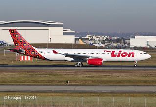 HS-LAH 1st A330 for Thai Lion delivered