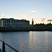 Abend im Dundee Harbour