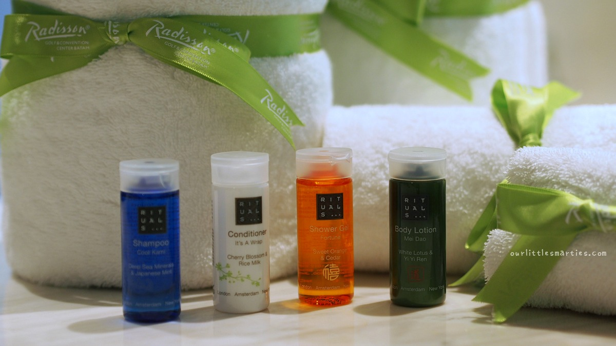Toiletries from Rituals