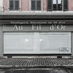 Bijoutier rue de la République - Désertification - Photo of Navilly