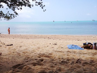 Image of Sandy beach.