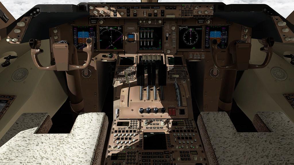 Novas texturas para o cockpit do 747-800 da SSG 27038556149_acfe76d08e_b