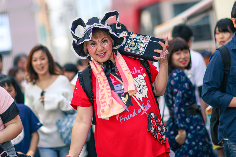 Woman in Takeshita Street