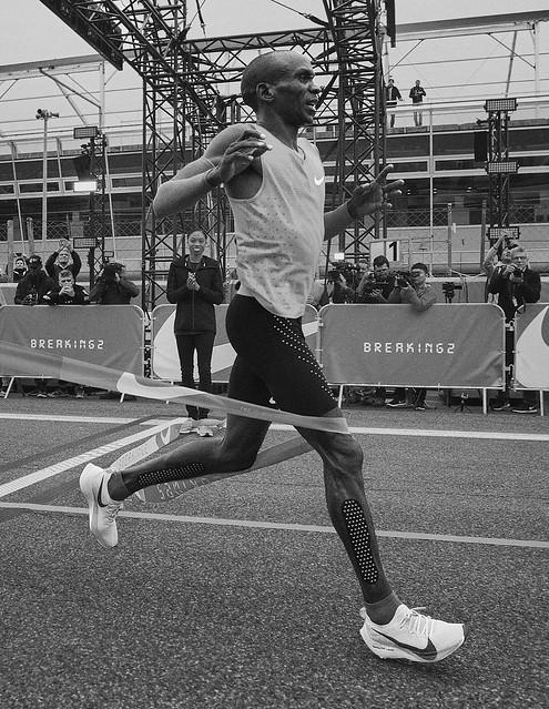 Kipchoge Nike Vaporfly 4%