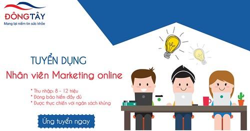 Tuyển dụng 01 Marketing Online làm việc tại Hà Nội