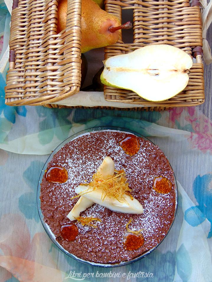 torta ricotta e pere 7