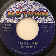 THE JACKSON 5:I'LL BE THERE(LABEL SIDE-B)