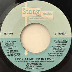 MOMENTS:LOOK AT ME(LABEL SIDE-A)