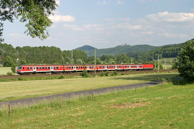 DB RB Eisenach - Bebra  - Stedtfeld  (mit/with Wartburg)