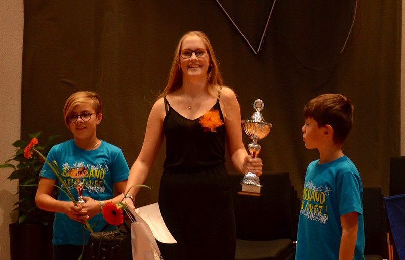 BUBB - Bors Ungdomsbrassband vann Minibrassdivisionen
