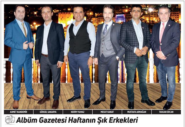 Ahmet Kandemir, Göksel Sakarya, Kerim Yılmaz, Mesut Kanat, Mustafa Armağan, Tanjan Ercan