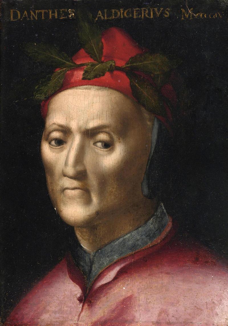 Dante Alighieri portrait. c. 1500s.