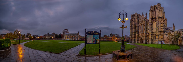 Cathedral Green, Wells, Somerset, England (Explored)