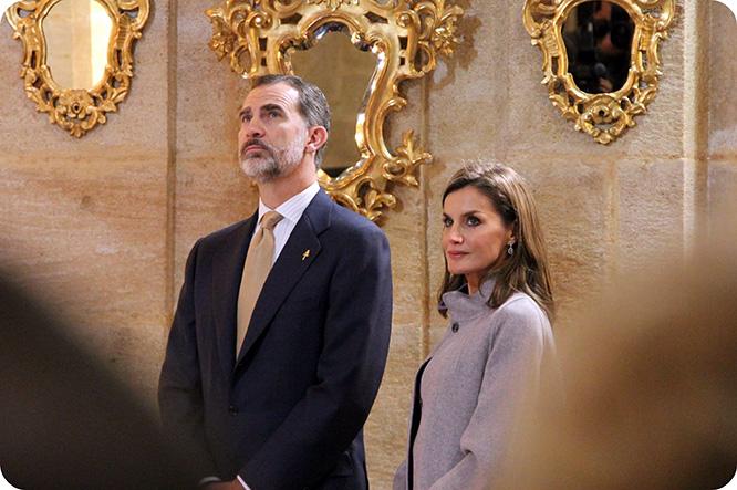 Los Reyes de España ganan el jubileo