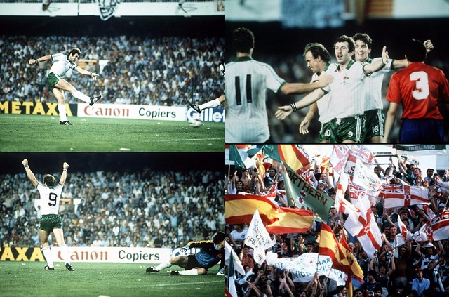 82 World Cup v Spain