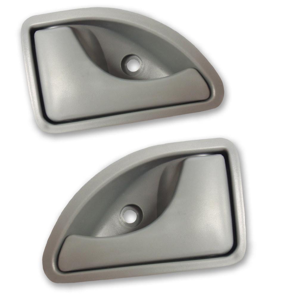 Poignée intérieure grise de porte avant gauche + droite Twingo Kangoo Kubistar