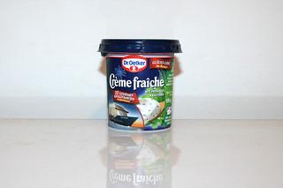 22 - Zutat Creme fraiche mit Kräutern / Ingredient creme fraice with herbs
