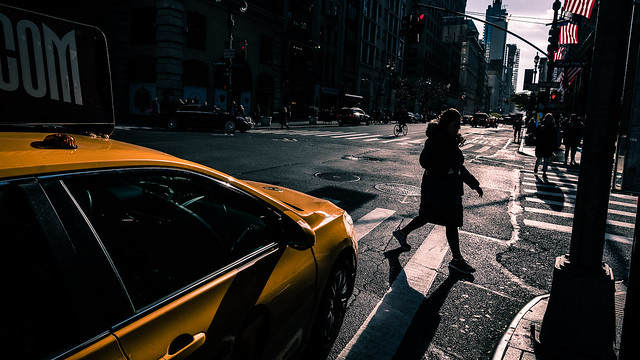 Fifth Ave - New York - Color street photography