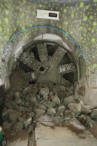 Completion of Northern Line Extension Tunnelling 03