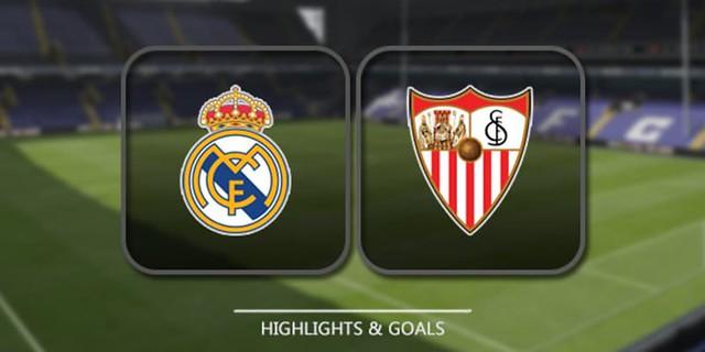 Cuplikan Gol – Real Madrid 5-0 Sevilla (09/12/2017) – Liga Spanyol