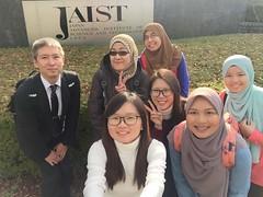 20171109Sakura Science from MJIIT, Malaysia