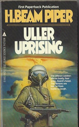 Uller Uprising - H. Beam Piper - cover artist Gino D' Achille