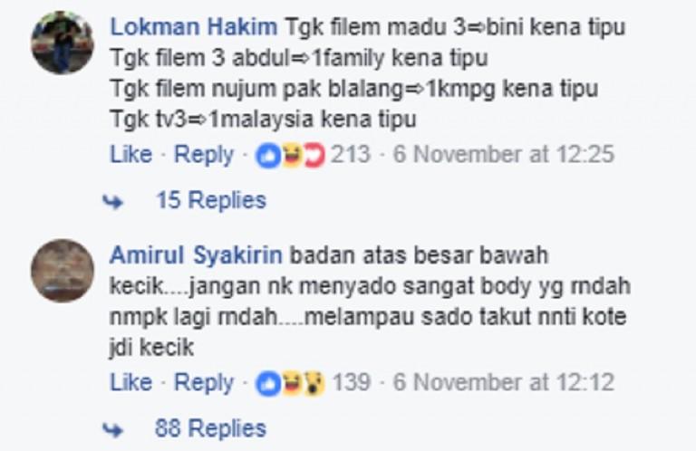 Imej Badan Sado Shaheizy Sam Dikritik Netizen