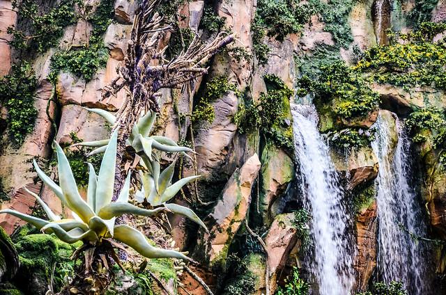 2 waterfalls Pandora AK