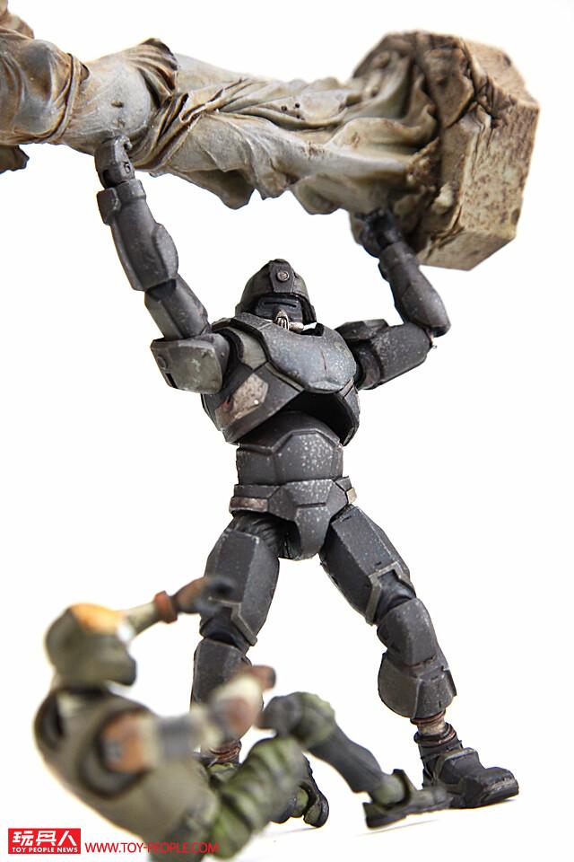 """從地獄取得更恐怖的力量回來復仇的超級士兵!《酸雨戰爭》地獄部隊""""重生士兵""""(Reborn trooper)開箱報告"""