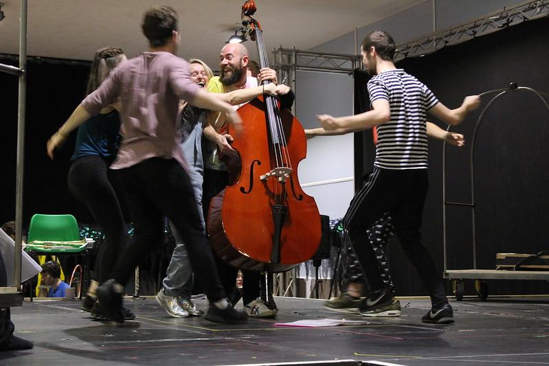 Alice in Wonderland Rehearsals