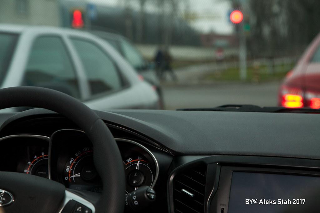 Lada Vesta SW Cross in Minsk