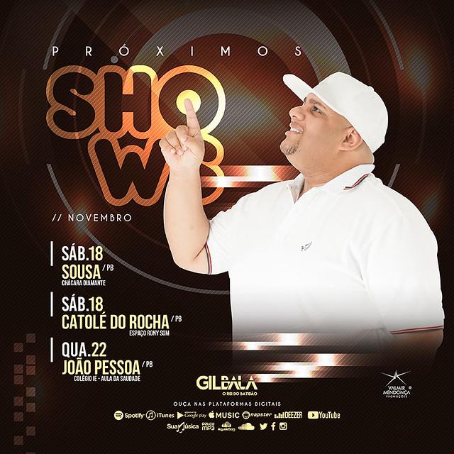 Agenda Semanal - Gil Bala - Nov. 2017 - Semana 03-02