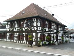 Fachwerk in Roppenheim - Photo of Soufflenheim