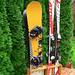 Stojan na lyže a snowboardy 2+ 2