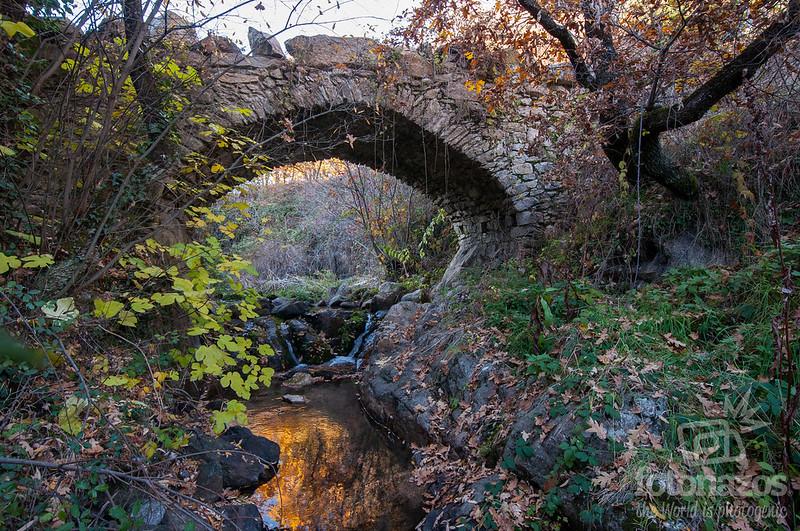 Puente de Salustiano en Miraflores de la Sierra