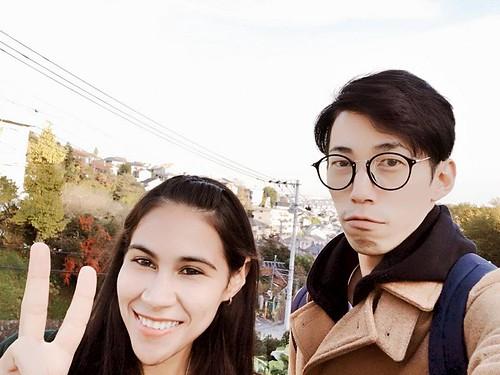Ryu and I in Machida